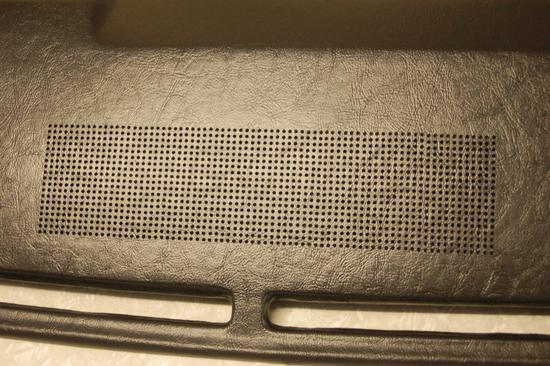 XW XY Speaker holes