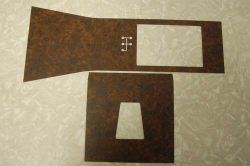 HG GTS Wood grain console panels