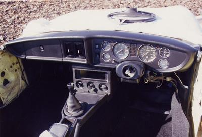 MGB - New Large Gauge dashboard