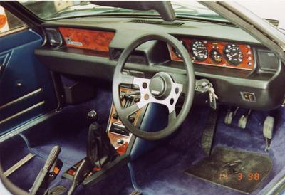 Fiat x19 dash for Dash designs car interior shop