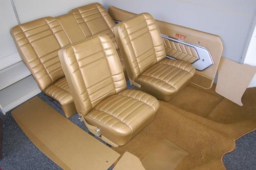 LC GTR Torana Antique Gold interior