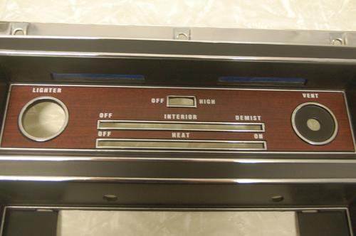 HT GTS Heater panel