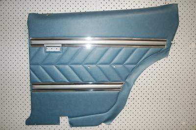 5a.  LC GTR Door trim Rear Twilight Blue