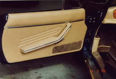 Fiat Spider Door trim