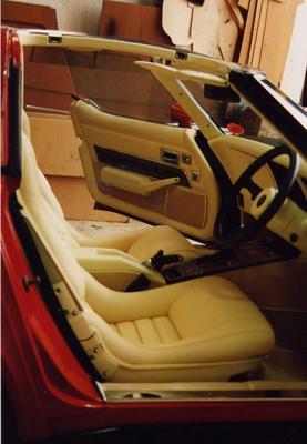 Corvette Interior - Seats