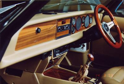 Fiat Spider Dashboard