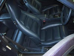 Porsche 928S Leather Interior
