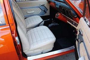 LC Torana sedan interior
