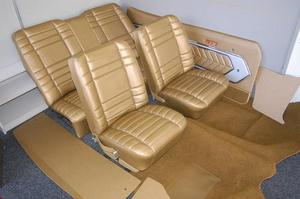 LC GTR Torana Antique Gold interior