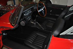 E TYPE Black interior
