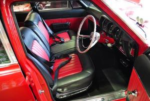 1970 Rambler Rebel interior